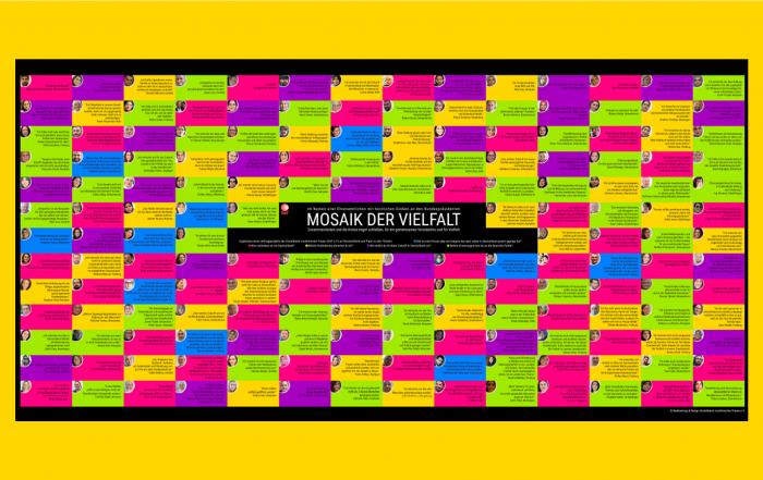 Mosaik der Vielfalt