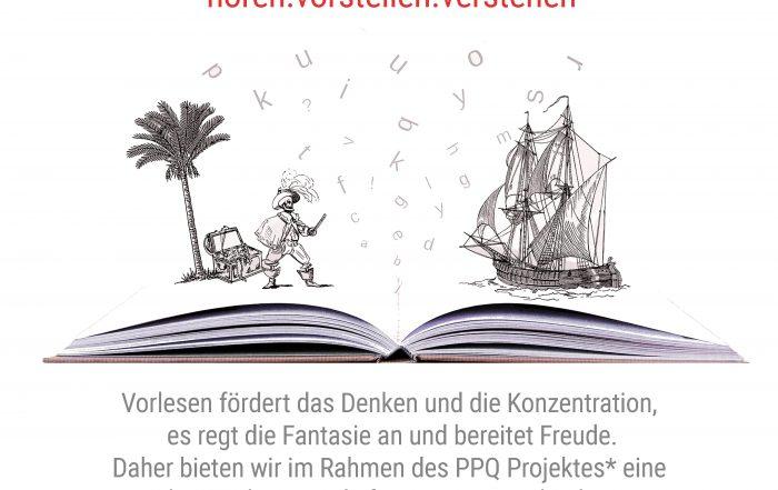 Einladung der PPQ Patenkinder zum Vorleseabend
