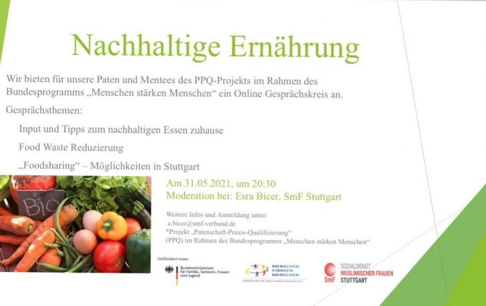 nachhaltige Ernährung, Klima, Food Waste, Food Sharing, Umwelt